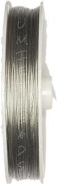 S-1021 Staaldraad 100meter Platinum 0,38mm; 100 meter