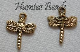 02959 Bedel Libelle Antiek goud (Nickel vrij) 20mmx16mm