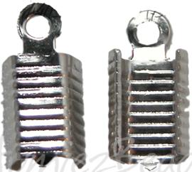 03516 Veterklem Metaalkleurig (Nikkelvrij) 12mmx5mm 11 stuks