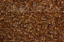 04105 Knijpkraalbuis Goudkleurig (Nikkelvrij) 2mmx1,5mm 2 gram