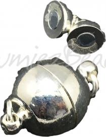 03941 Magneetslot Metaalkleurig (Nikkelvrij) 19mmx12mm 1 stuks