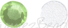 02440 Plaksteen Licht groen SS30 / 6,5mm 25 stuks