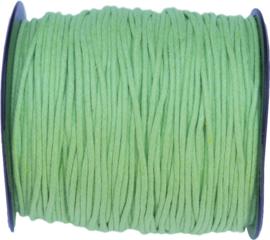 W-1502 Waxkoord  Groen 1,5mm 7 meter