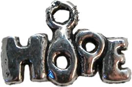 01818 Bedel hope Antiek zilver (Nikkelvrij) 13mmx9mm