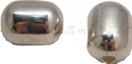 01391 Metallok kraal cilinder Antiek zilver 26mmx19mm