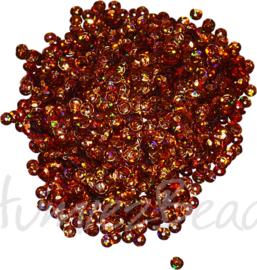04272 Pailletten Oranje 5mmx0,3mm 1 zakje