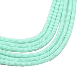PARA-4071 Parakoord  Bleek turquoise 6 meter