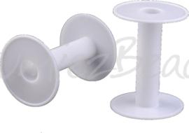 KL-0001 Klosje plastic Wit 96mmx67mm 1 stuks