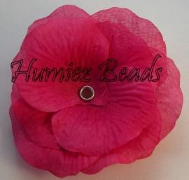 Bloem hard roze 75mm