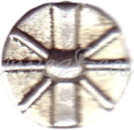 00112 Spacer disc Antiek zilver 16mm 5 stuks
