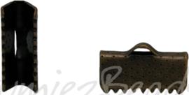 01130 Bandklemmen Bronzefarbe (Nickelfrei) 13mmx7mm 8 stück