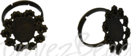 04373 Vingerring Antiek brons 1 stuks