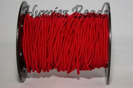 E-0021 Elastiek rood 3mm 8 meter