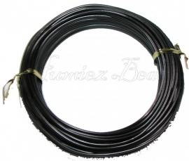 A-0003 Aluminium draad zwart 2mm 12 meter