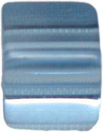 01845 Glaskraal kubus Blauw 8mm 1streng (±30cm)
