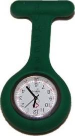 03551 Zusterhorloge siliconen Donker groen 90mmx40mmx9mm 1 stuks