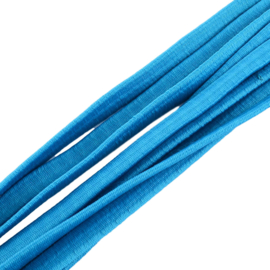 EP-5009 Elastiek Plat Blauw 5mmx2mm 5 meter