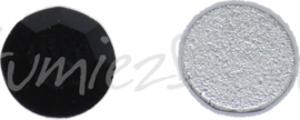 03118 Plaksteen Zwart SS30 / 6,5mm 25 stuks