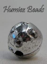 02622 Plastic bal spacer Zilver 8mm 20 stuks