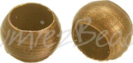 00819 Knijpkraal Brons 2,5mm 5gram (±170 stuks)