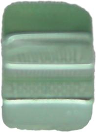 01864 Glaskraal kubus Lichtgroen 6mm 1streng (±30cm)