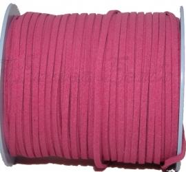 V-0054 Veter A-kwaliteit Fuchsia (2) 3mm 1 meter