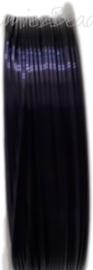 C-0067 Kupferdraht 6 meter dunkel violett 0,6mm 1 rol