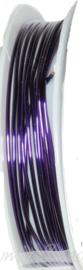 C-0074 Kupferdraht 2,5meter Violett 1,0mm 1 rol