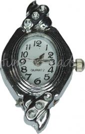 01928 Horloge Antiek zilver 1 stuks