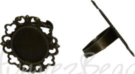 04368 Vingerring Antiek brons 1 stuks