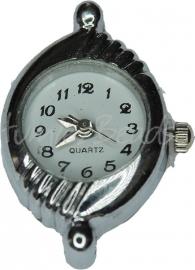 01692 Horloge Antiek zilver 1 stuks