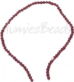 03209 Glaskraal Imitatie swarovski bicone paars 4mm 1 streng (±30cm)