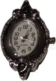 01485 Horloge Antiek zilver  1 stuks
