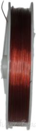S-1029 Staaldraad Rood 0,38mm 100 meter