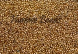 02878 Spacer rond Goudkleurig (Nickel vrij) 2mm 4 gram (± 200 stuks)