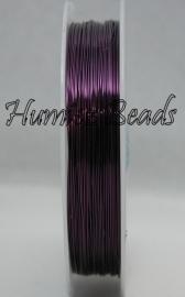 C-0036 Kupferdraht 6,5meter Violett 0,6mm