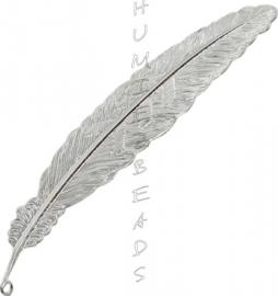 B-0033 Lesezeichen veer Silberfarbe (Nickelfrei) 115mm