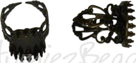 04369 Vingerring Antiek brons 1 stuks