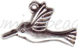 00192 Bedel vogel Antiek zilver
