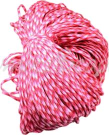 PARA-4021 Parakoord Roze-rood 4mm 6 meter