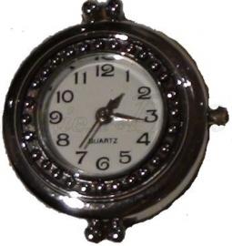 00137 Horloge Metaalkleurig  1 stuks
