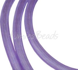 P-0404 Plastic netdraad Paars 4mm 1 stuks