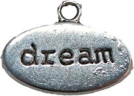 01561 Bedel dream Antiek zilver 13mmx18mm