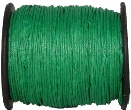 W-0017 Waxkoord Groen (2) 1mm ±70meter