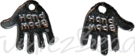 02969 Bedel hand made Zwart 11mmx12mm