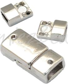 01842 Magneetslot Metaalkleurig (Nikkelvrij) 1 stuks