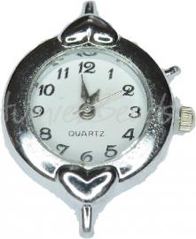 01816 Horloge Antiek zilver 1 stuks