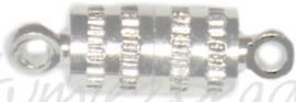 04331 Magneetslot Metaalkleurig (Nikkelvrij)  3 stuks