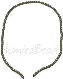 03427 Glasparel streng (±30cm) Groen 3mm 1 streng