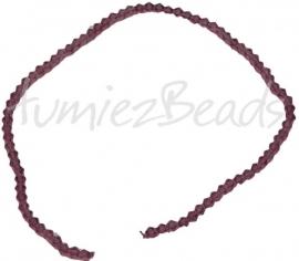 03206 Glaskraal Imitatie swarovski bicone lila 4mm 1 streng